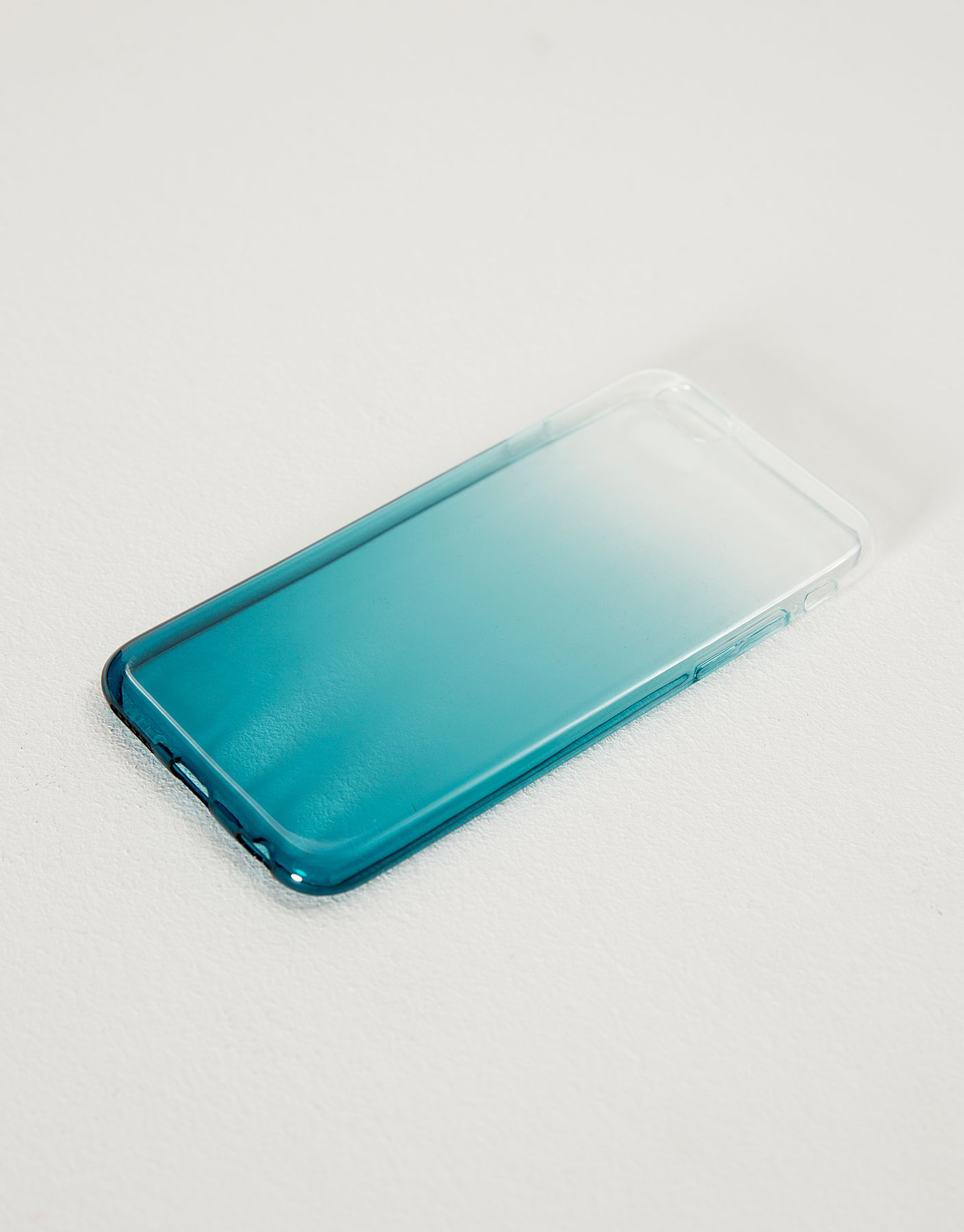 Funda móvil degradado transparente