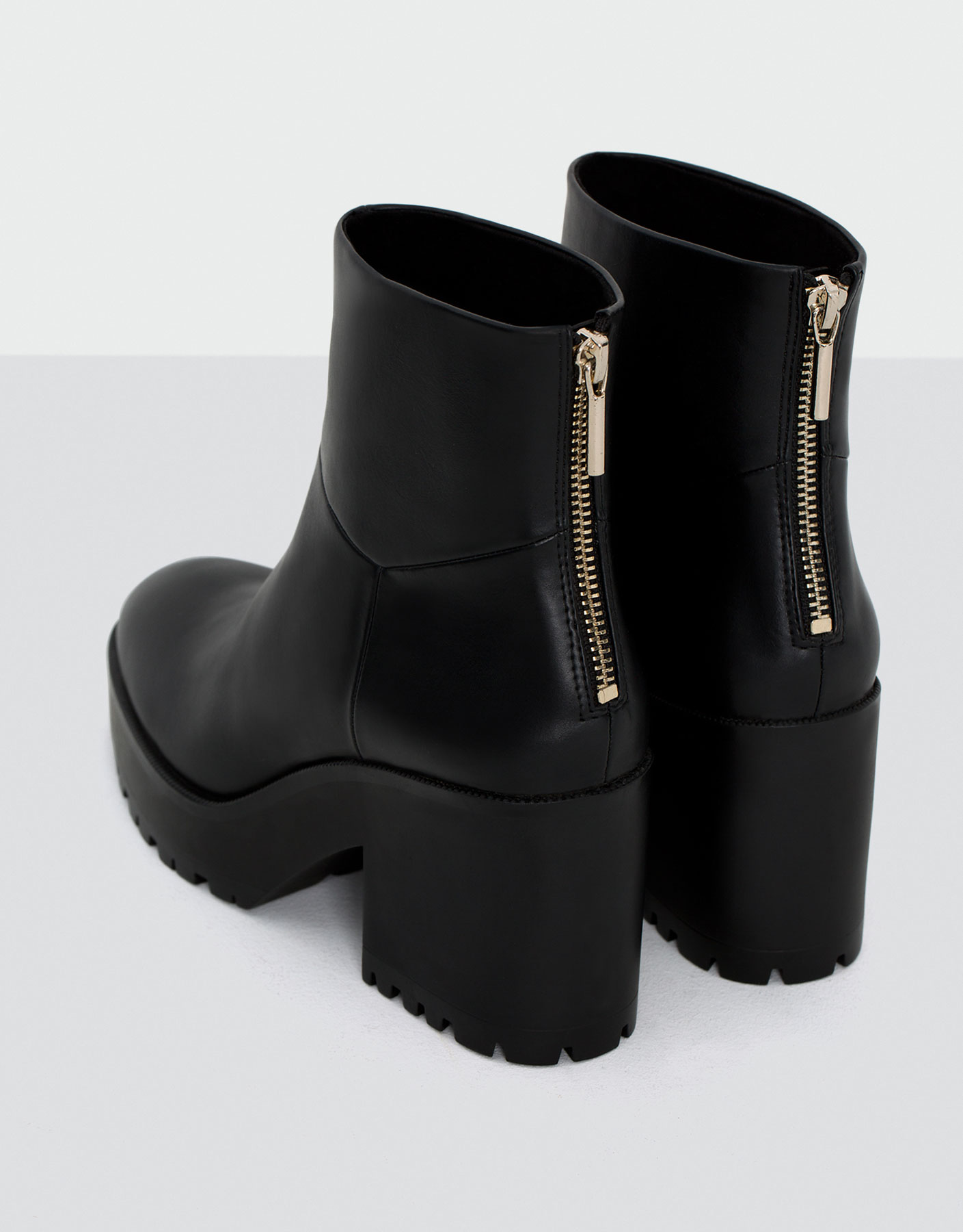 Fashion high heel ankle boots