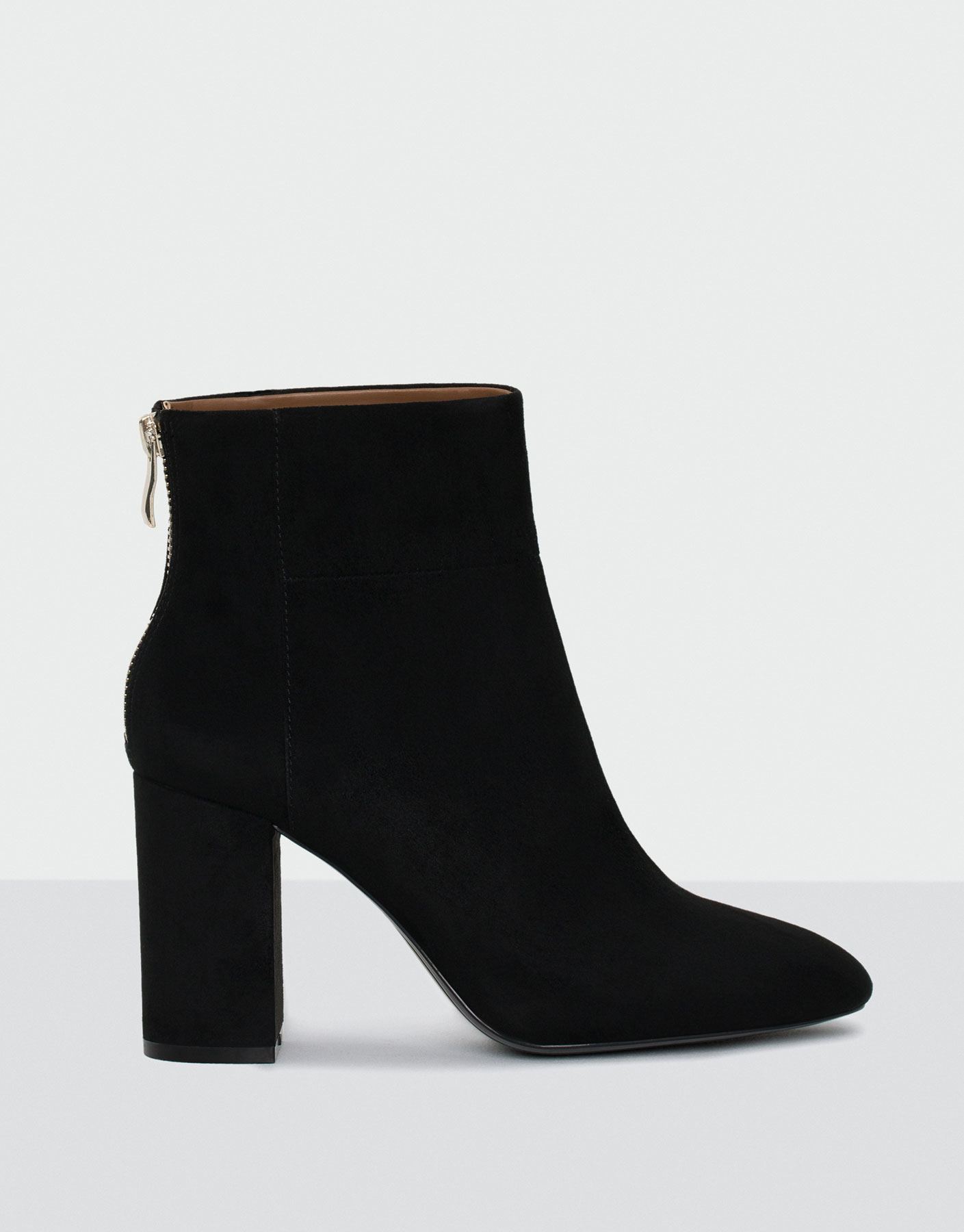 Evening high heel ankle boots
