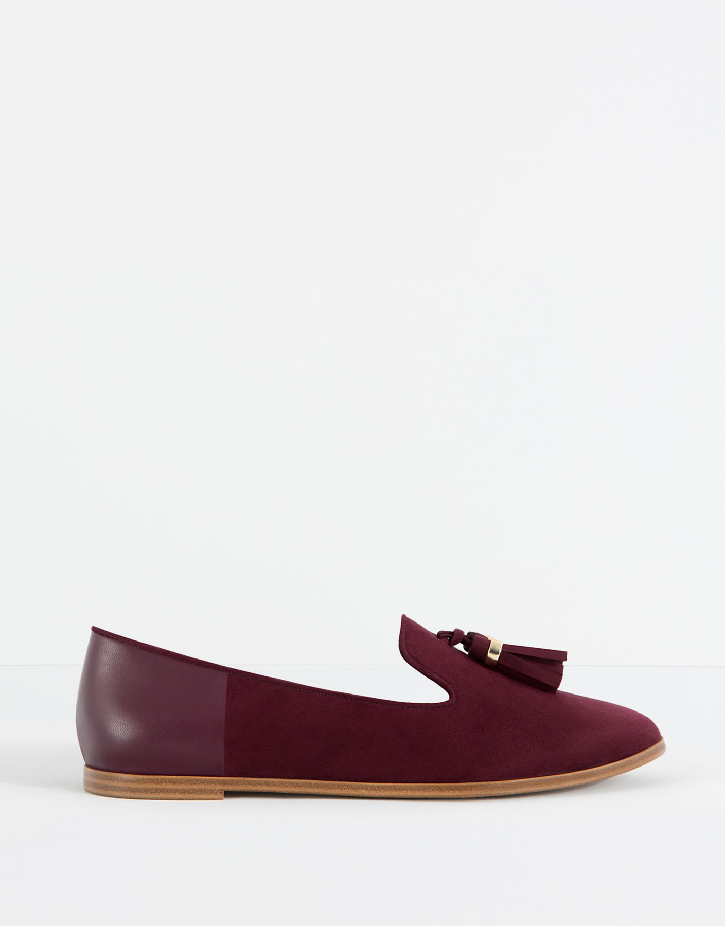 Loafer met lip