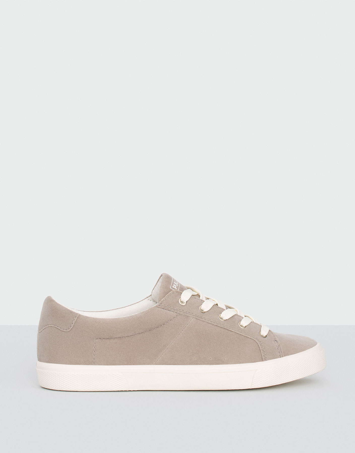 Basic grey plimsolls