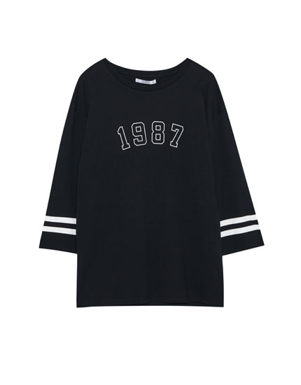 '1987' sporty T-shirt