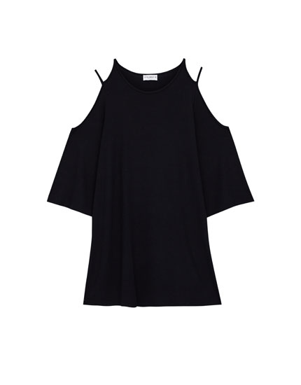 Robe épaules cut out