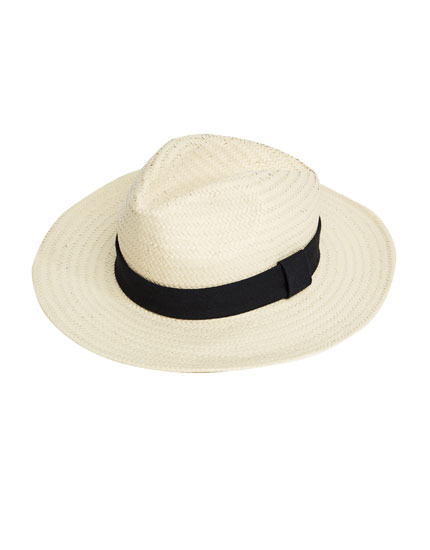 Panama-style hat