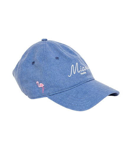 'Miami' faded cap