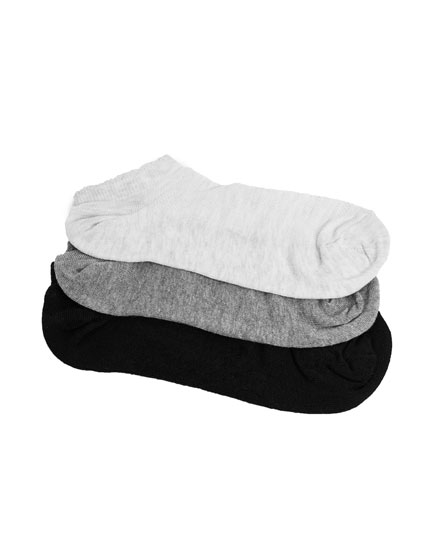 3-Pack of ankle socks