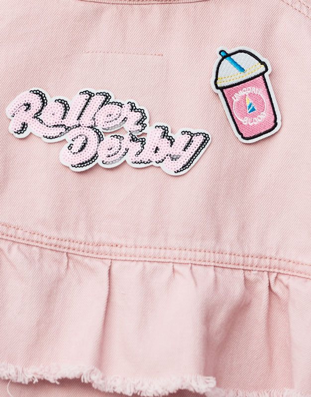 Roller skate patches