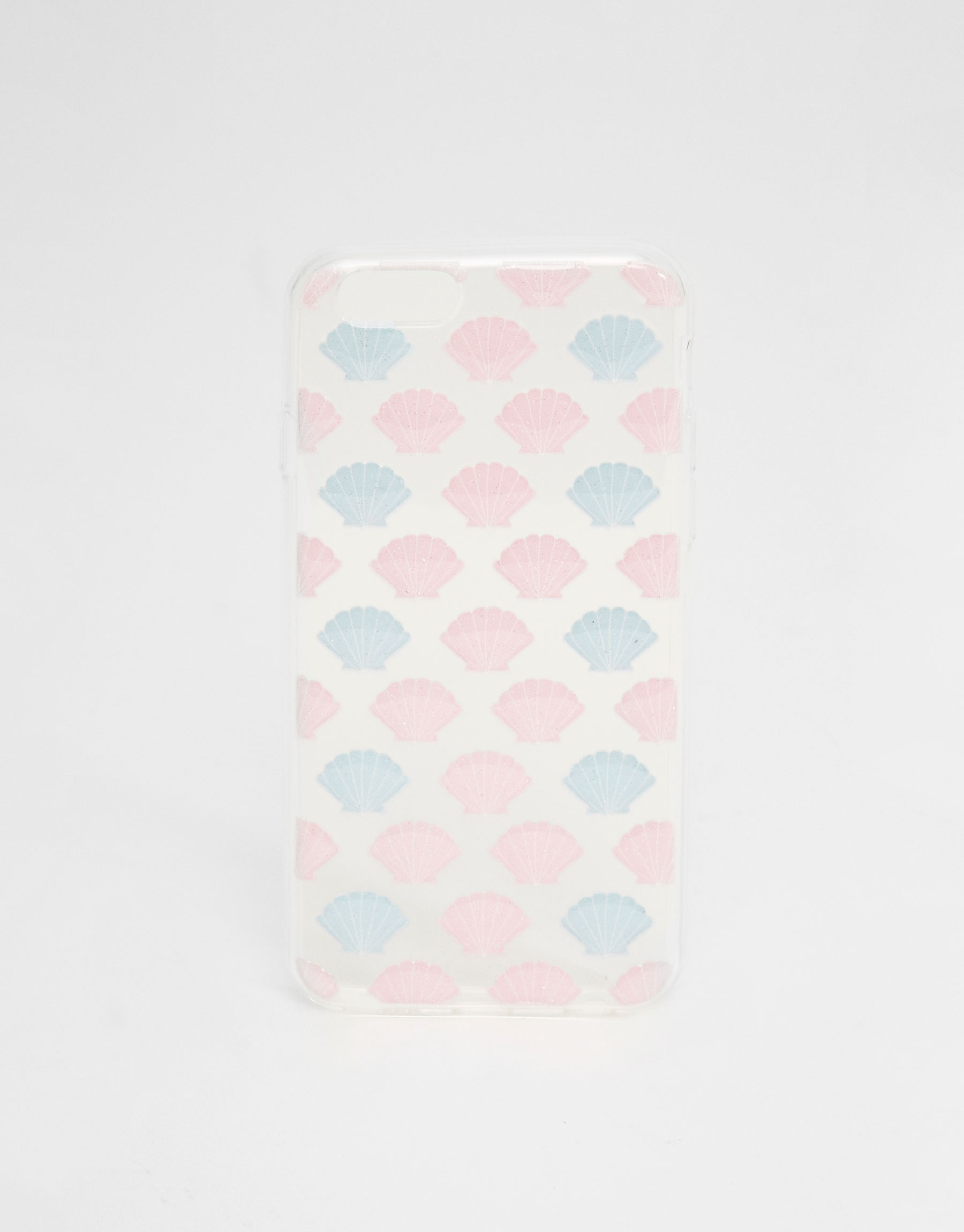 Mobile cover with raised shell design