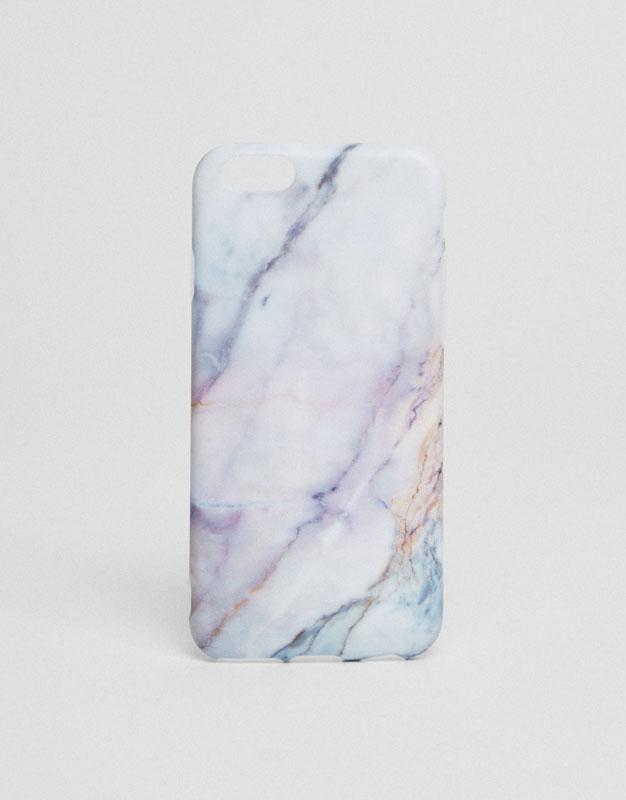 Funda móvil print mármol