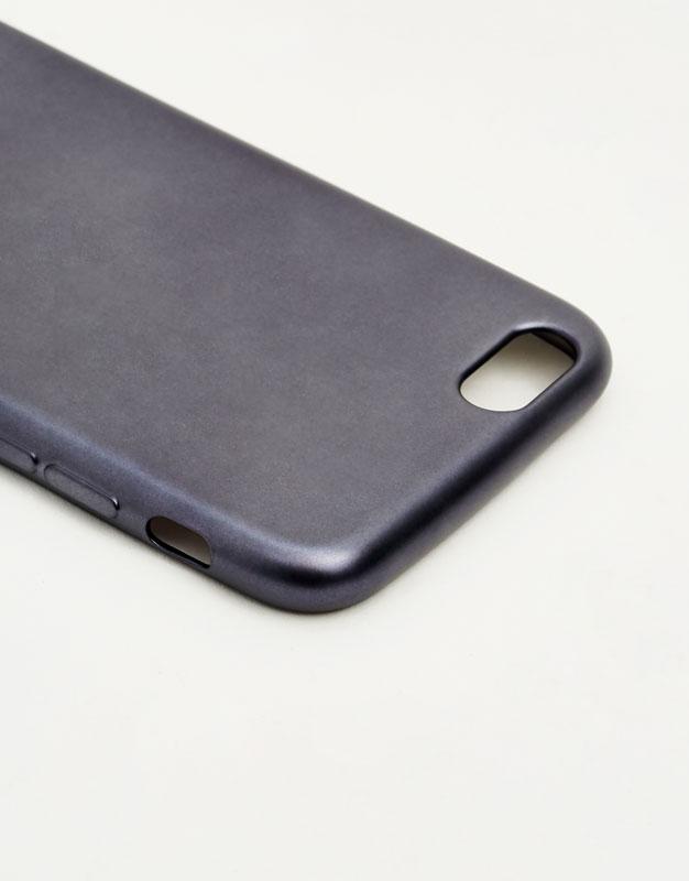 Matte metallic phone case