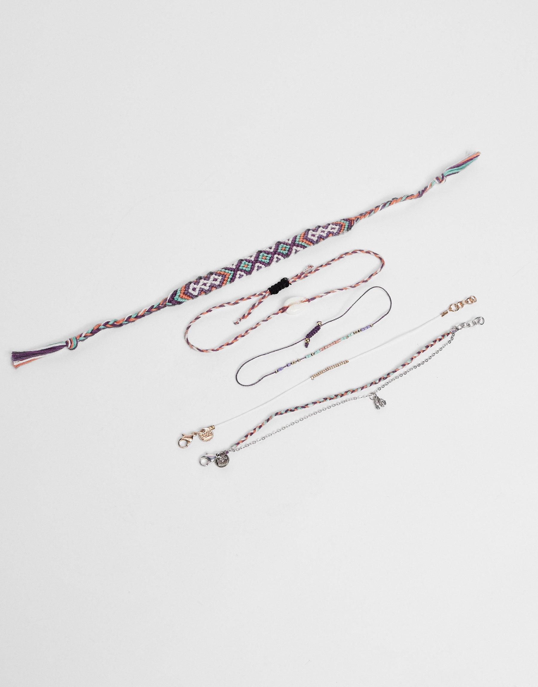 5-Pack of assorted bracelets