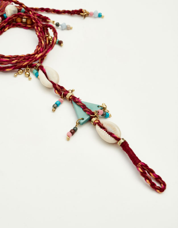 Anklet with shells
