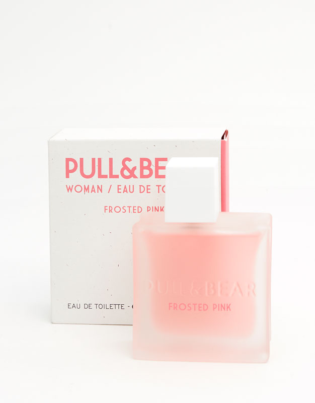 Pull & bear frosted pink eau de toilette 75 ml