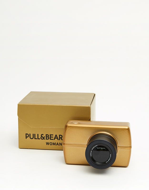 Pull & bear shot gold eau de cologne