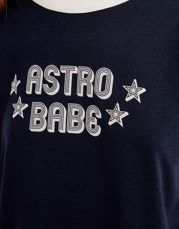 Samarreta text astro babe