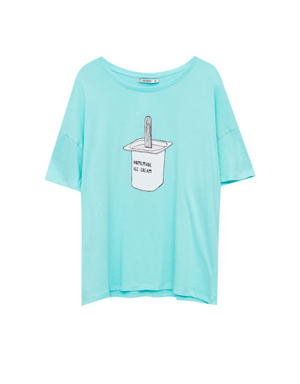 T-shirt imprimé glace