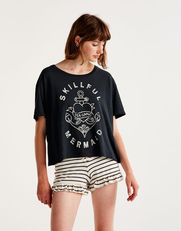 Camiseta print ancla