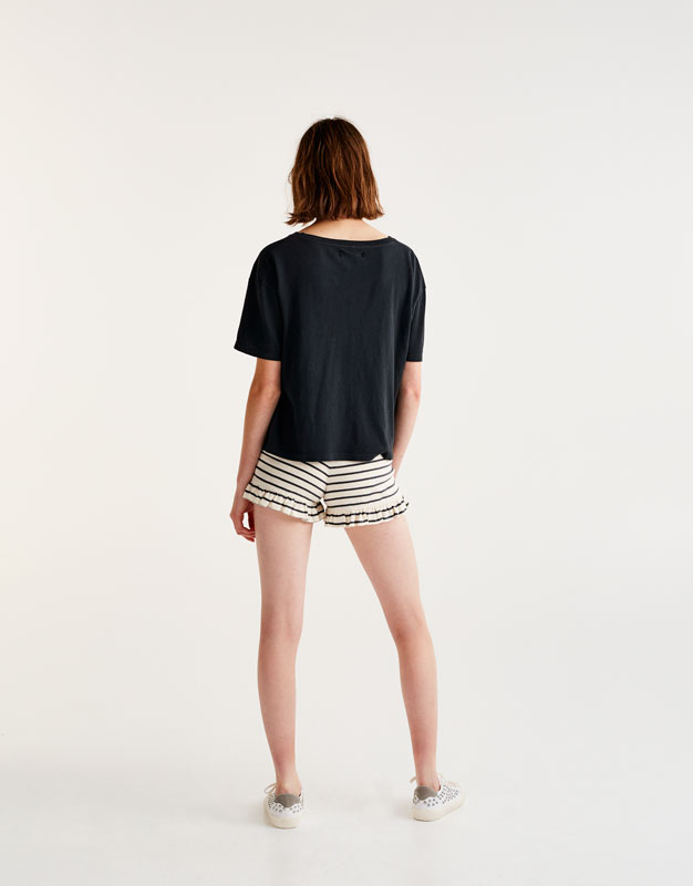 Anchor print T-shirt