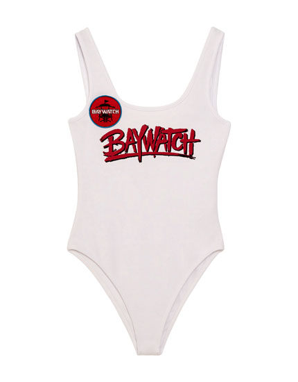 Baywatch bodysuit