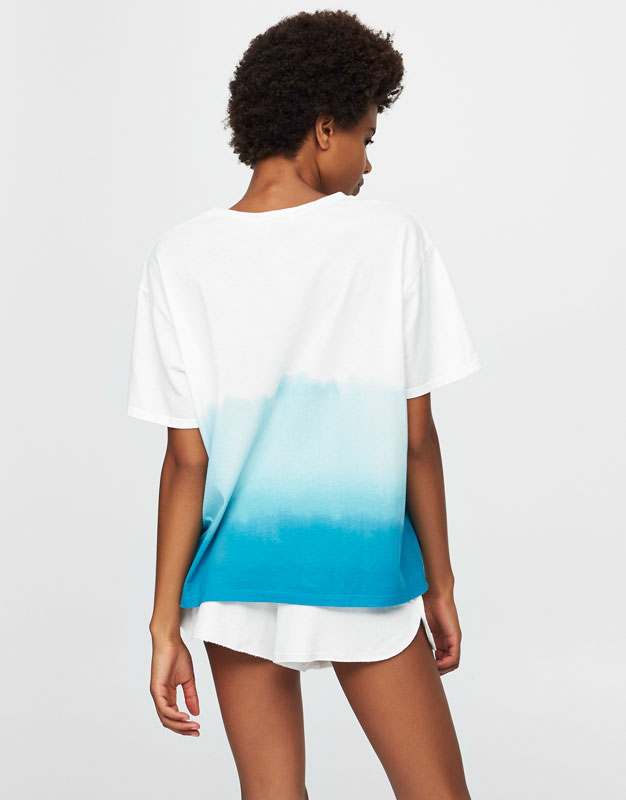 Blue ombré T-shirt