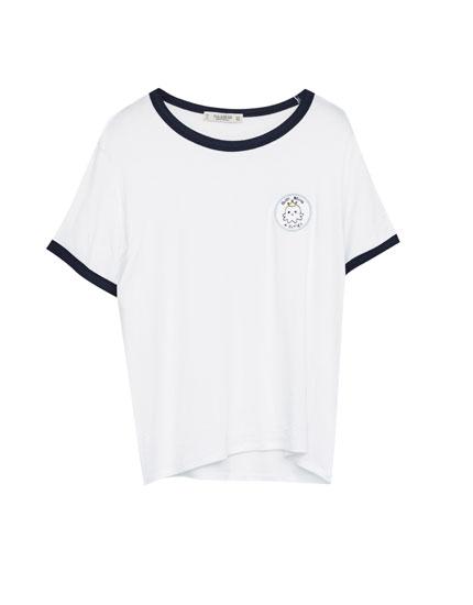 Camiseta parche pulpo