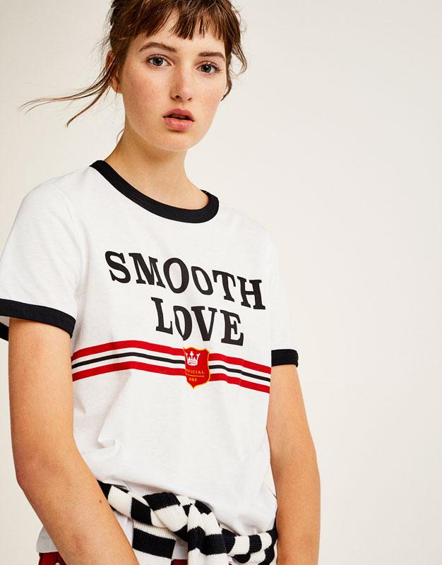 Front text sweatshirt