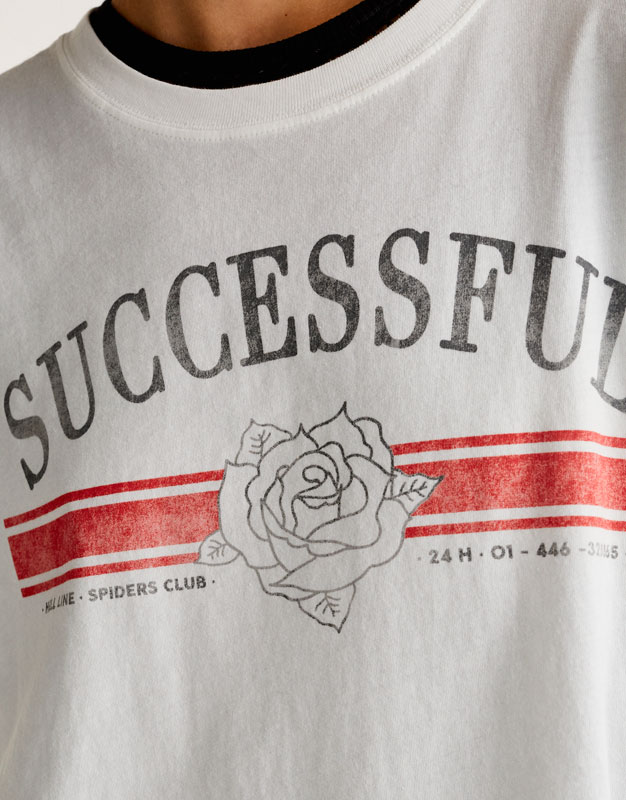 Camiseta gráfico successfull