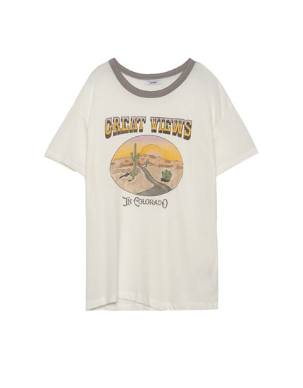T-shirt with Colorado graphic