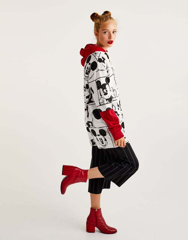 All over Mickey Mouse print dress