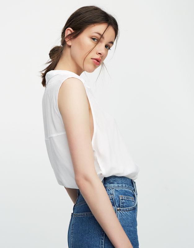 Camisa básica manga sisa