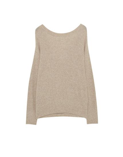 Multi-position sweater