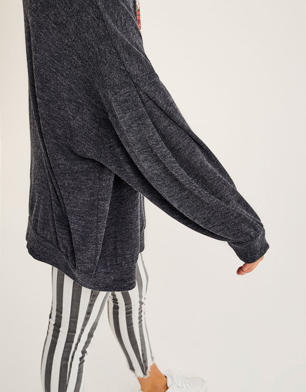 Basic jacket with full sleeves