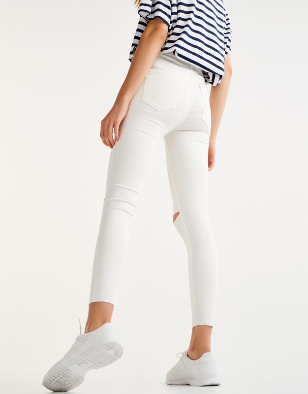 Pantalón skinny fit tiro alto