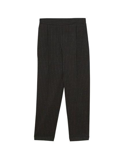 Pantalons jòguing ratlla diplomàtica