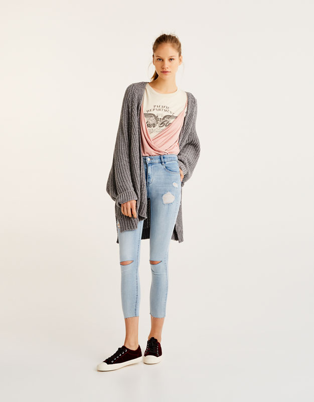 Body-Curve-Jeans Capri.