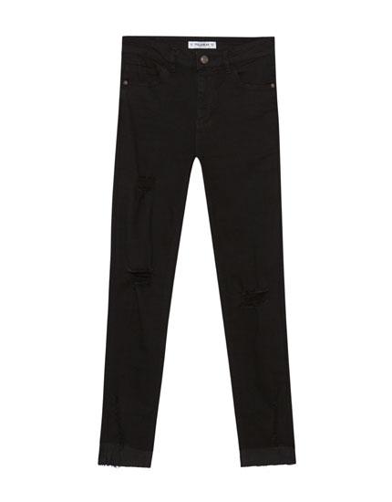 Jeans capri body curve