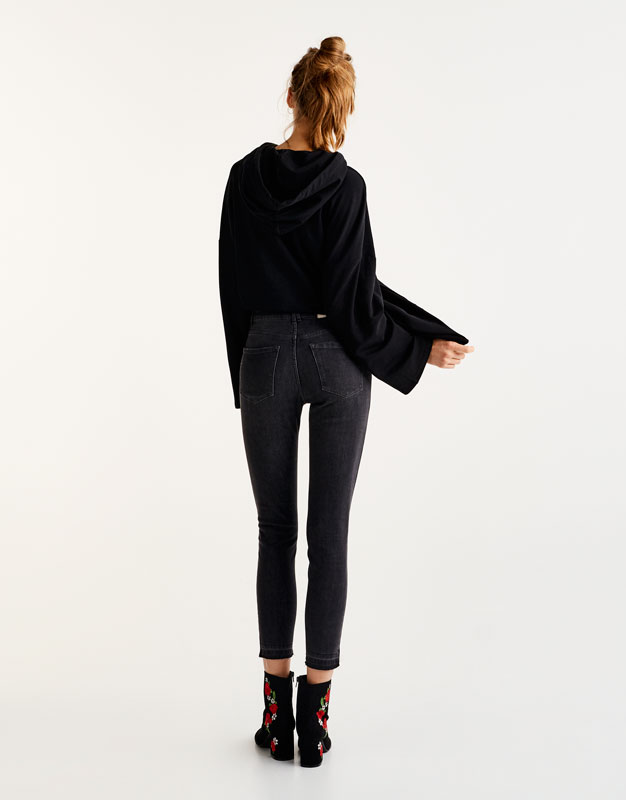 Texans skinny cropped fit