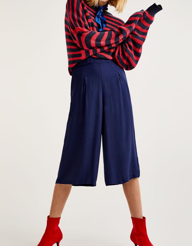 Pantalons culotte bàsics