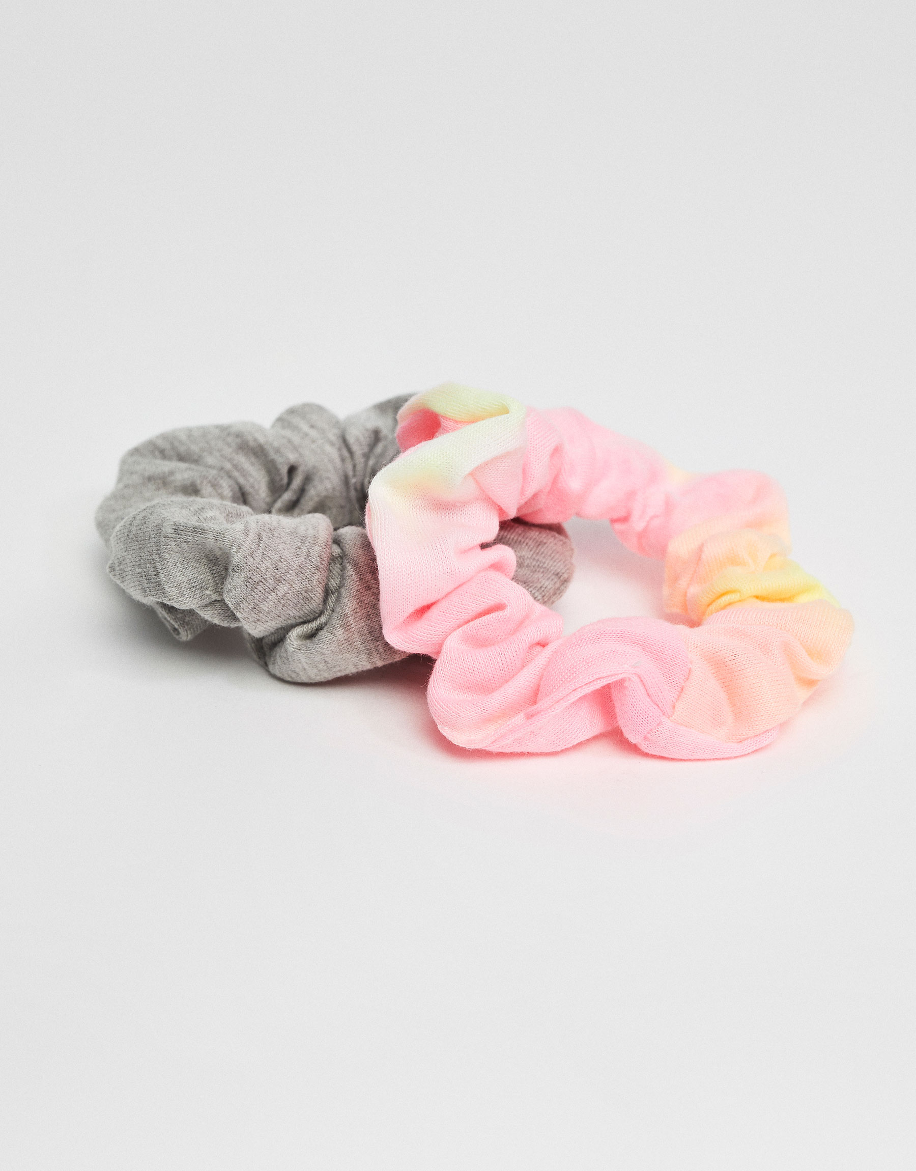 2-pack of tie-dye scrunchies