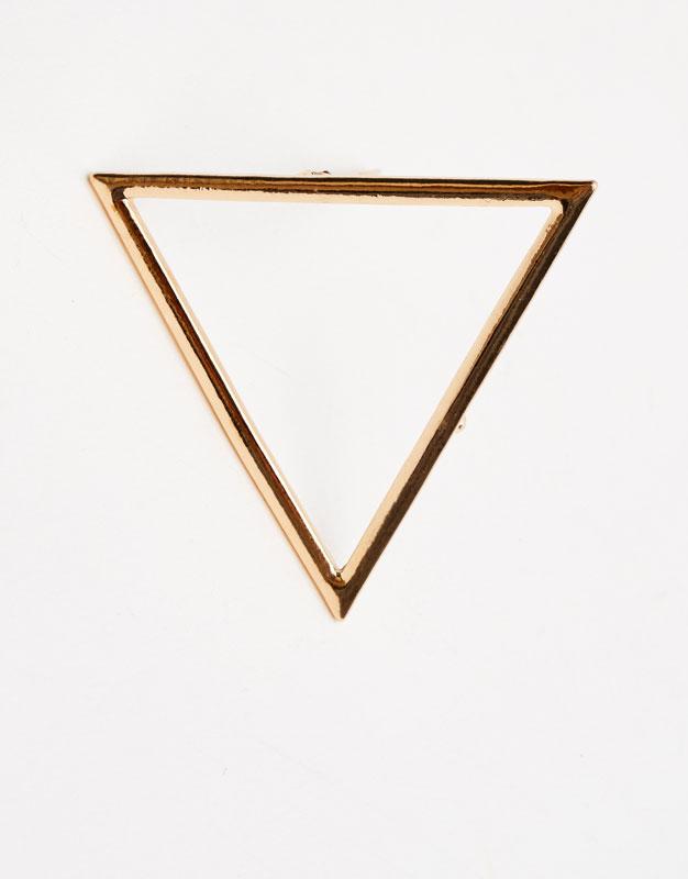 Triangle hair clip