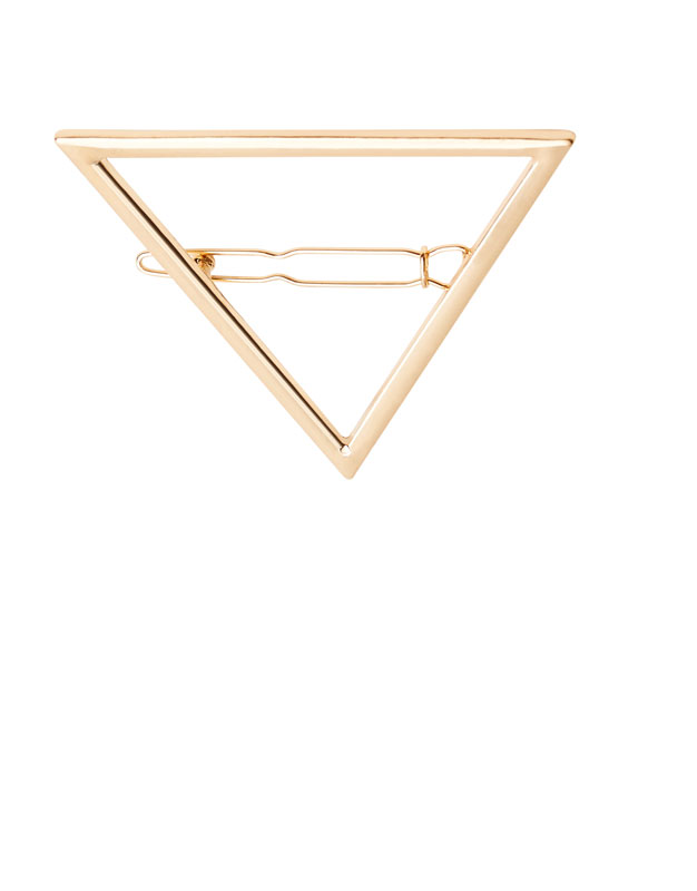 Triangle hair clip