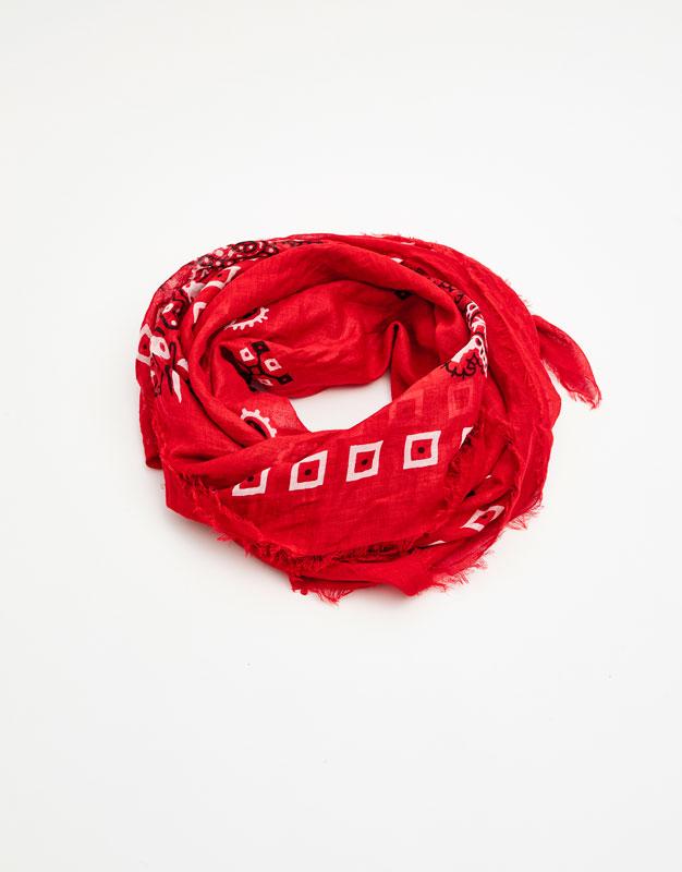 Oversized bandanna