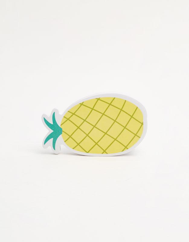 Fruit print notepad