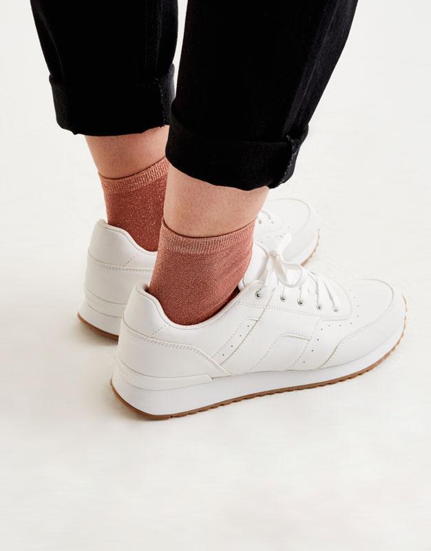 Pack 2 calcetines brillantes