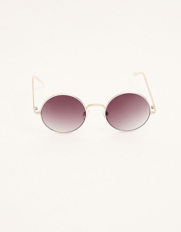 Gafas de sol montura redonda