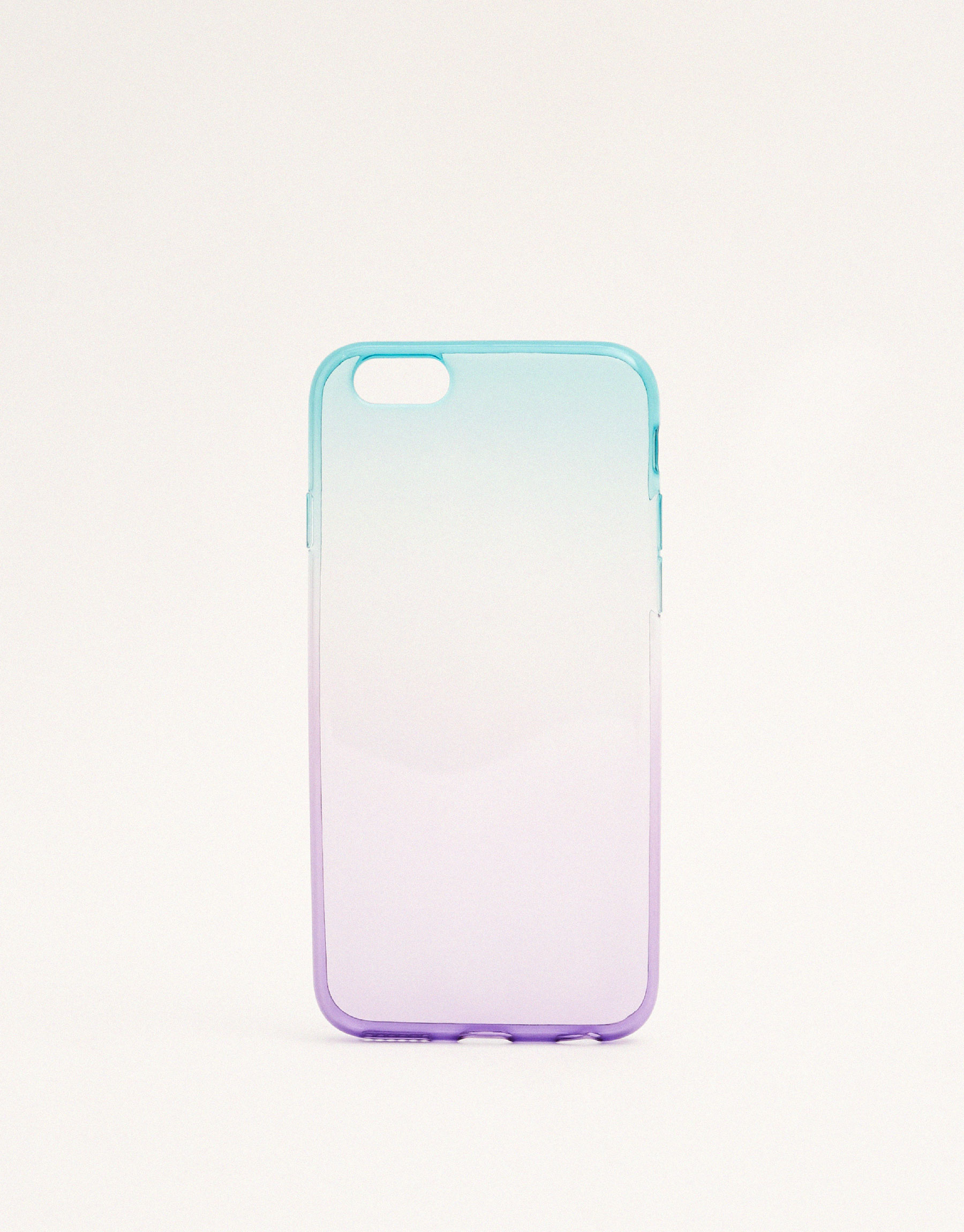 Multicoloured ombré phone case
