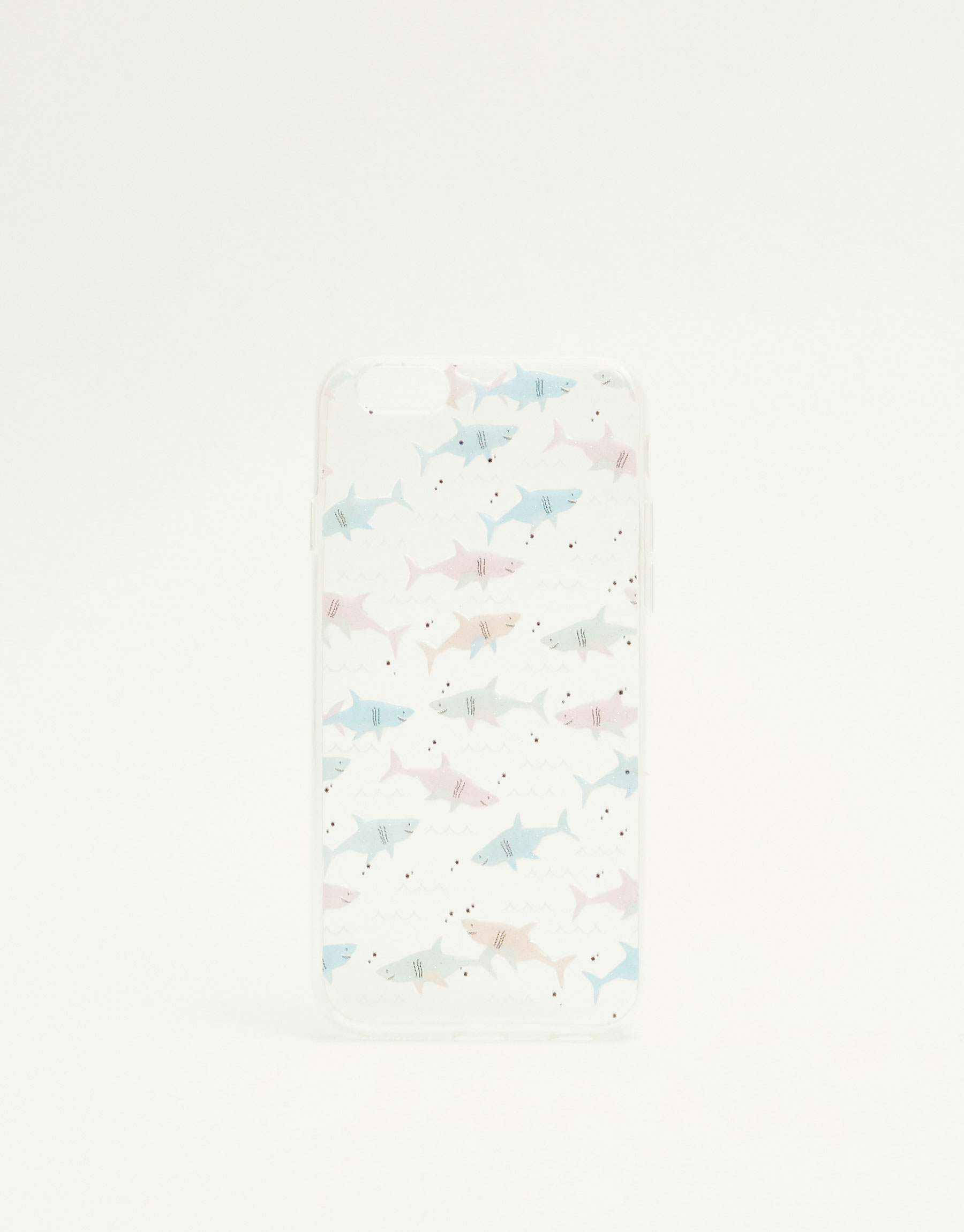 All over shark print phone case