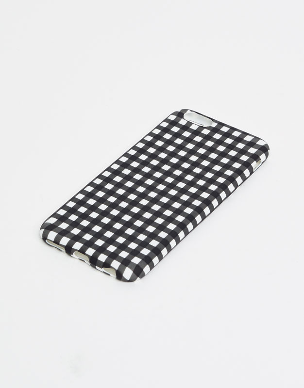 Coque iphone carreaux vichy