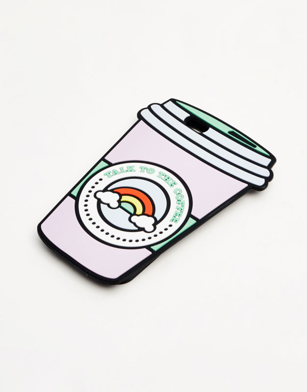 Silicone coffee cup case