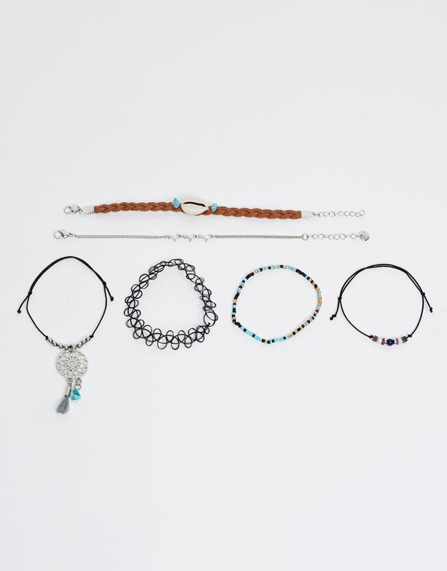 3-Pack of hippie bracelets